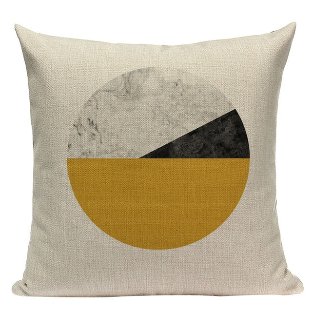Custom Throw Pillow Covers Geometric Cushion Cover Nordic