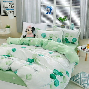 Bedding Set With Pillowcase Duvet Cover Sets