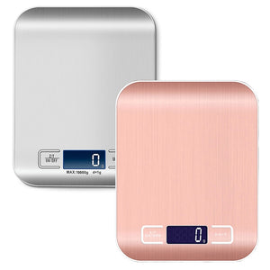 Digital Kitchen Scale, LCD Display 1g/0.1oz Precise