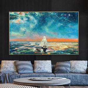 Oil Painting Canvas-Abstract art