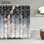 YOMDID Marble Pattern Bath curtain