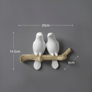 Living Room Hanger - Resin Bird hanger