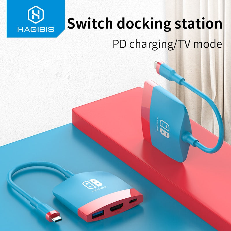 Hagibis Switch Dock