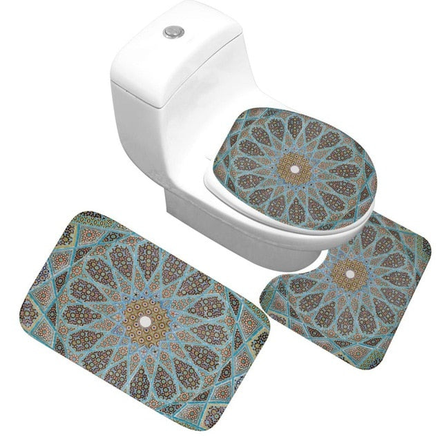 Bath Mat 3 Piece Set