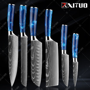 XITUO kitchen knives Set
