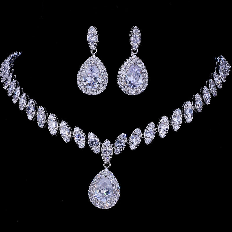 Necklace Set 4 Colors - Parure Bijoux Femme