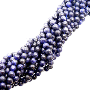 "Load image into Gallery viewer, Sodalite 6mm Round Beads 15"" Strand"
