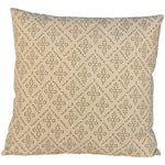 Grand Illusions Cushion Lindos Olive with Ecru