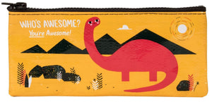 Blue Q Pencil Case Who's Awesome You're Awesome
