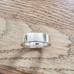 Sterling Silver Plain Band Ring Size U