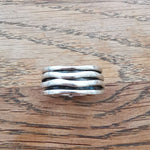 Sterling Silver Spinner Ring 25 Size S