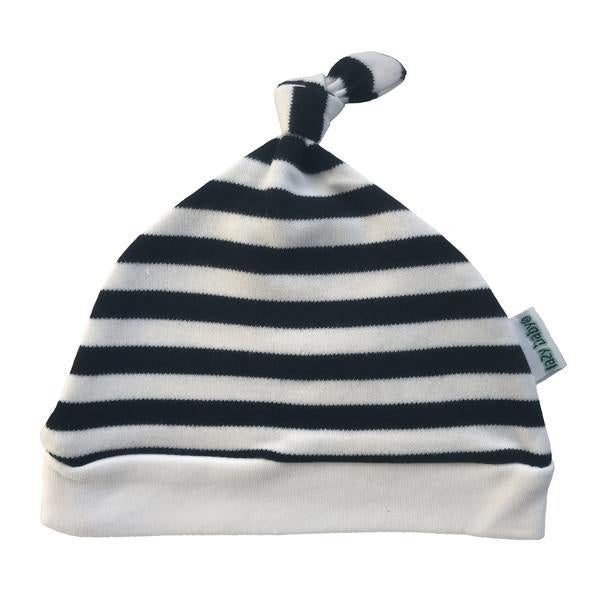 Lazy Baby Lazy Baby Hat Black / White