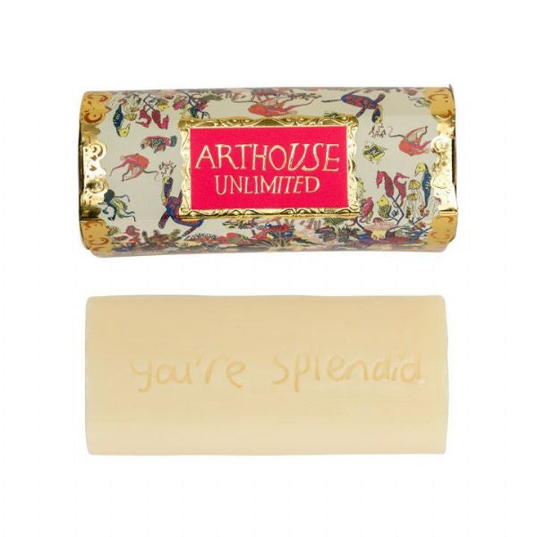 Arthouse Unlimited Angels of the Deep Lavender/Citrus Organic Soap