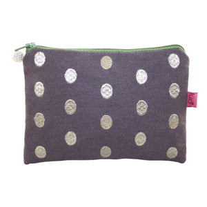 Lua Oval Dot Purse in Mocha