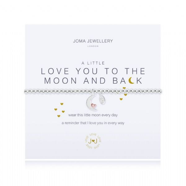 Joma Jewellery A Little Love You To The Moon and Back Bracelet