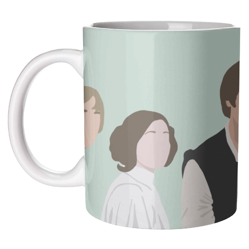 Star Wars Mug Art Wow