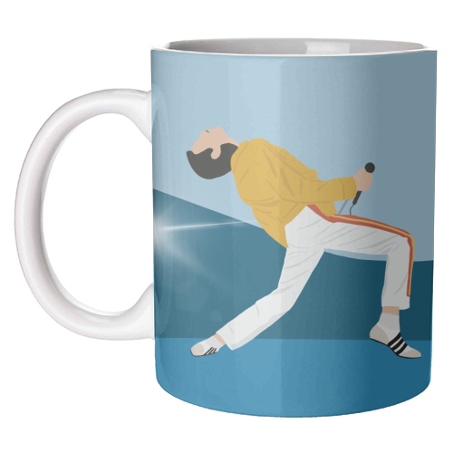 Freddie Mercury Performer Mug Art Wow