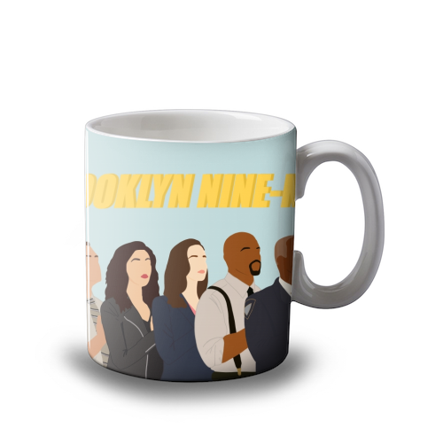 Brooklyn Nine Nine Mug Art Wow