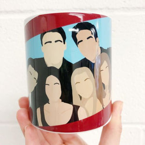 Friends TV Series Mug Art Wow