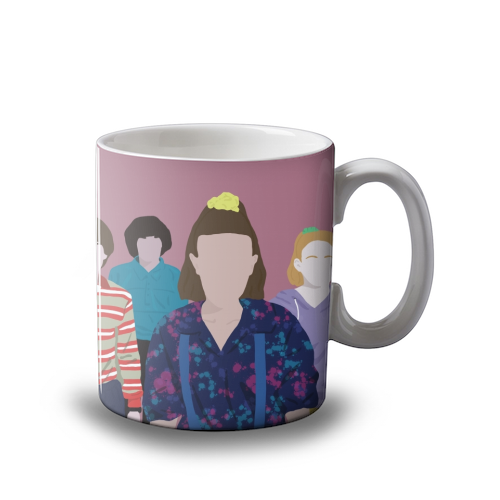 Stranger Things  Mug Art Wow