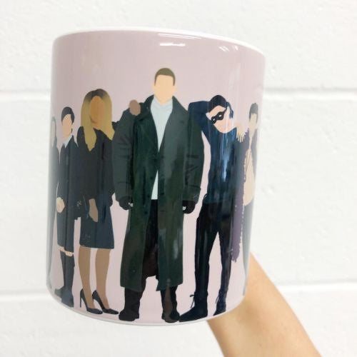 The Umbrella Academy Mug Art Wow