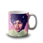 Aretha Franklin Mug Art Wow