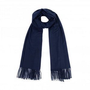 Park Lane Luxury Super Soft Scarf in Navy Blue