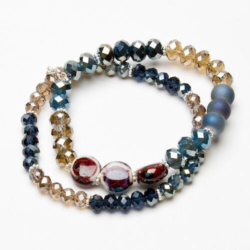 Eliza Gracious Multi Colour Beaded Bracelet