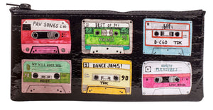 Load image into Gallery viewer, Blue Q Pencil Case Mix Tape