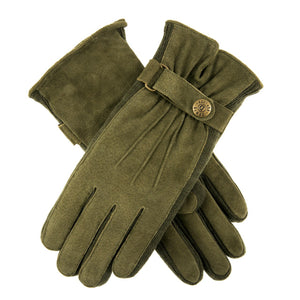Load image into Gallery viewer, Dents Laura Women's Suede Walking Gloves in Sage