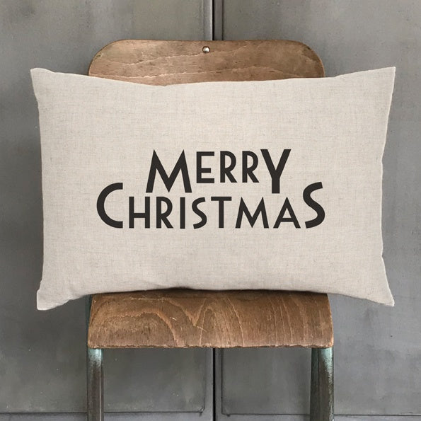 East of India Long Cushion Merry Christmas