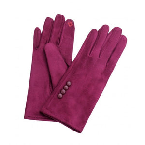 Park Lane Plum Gloves
