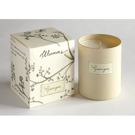Illumens Abbaye Garrigue Candle In Glass