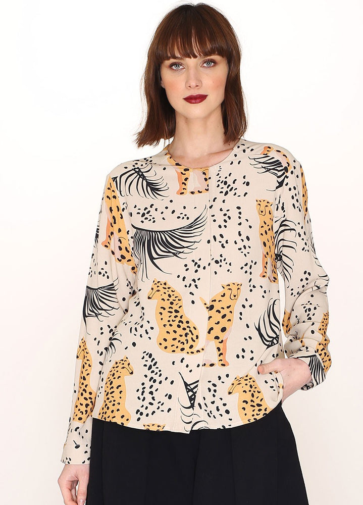 Pepaloves Leopard Print Shirt