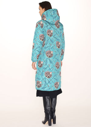 Pepaloves Pomegranate Puffy Coat