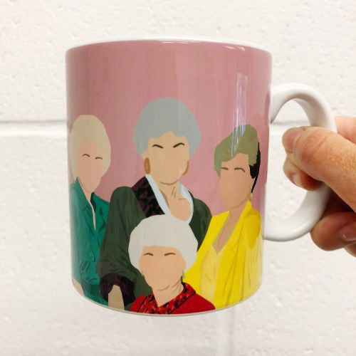 Art Wow Golden Girls Mug Boland Design