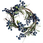 Grand Illusions Wild Blueberry Table Wreath