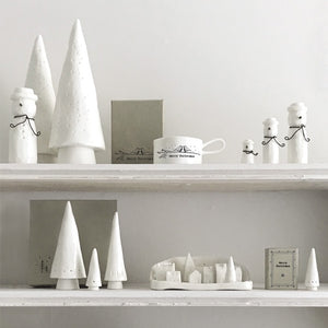 East of India Porcelain Christmas Village