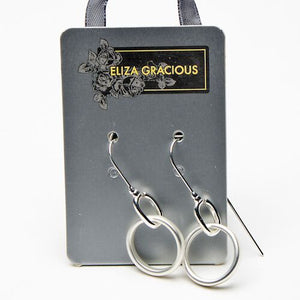 Load image into Gallery viewer, Eliza Gracious Ring & Dropper Bar Earrings
