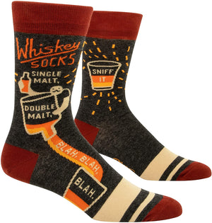 Blue Q Whiskey Men's Socks