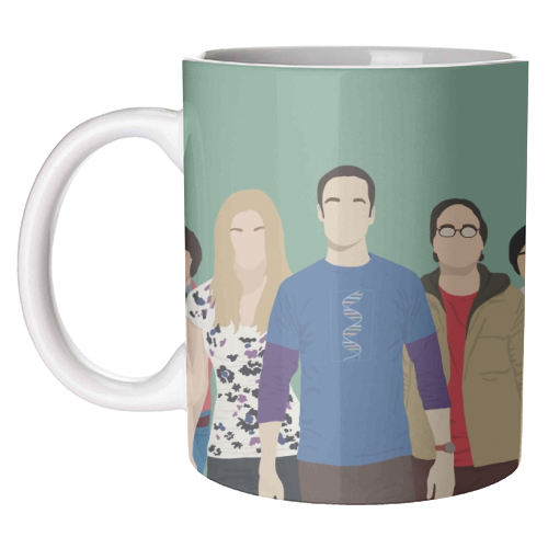 Art Wow Big Bang Theory Mug