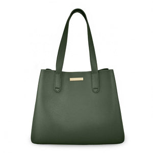 Katie Loxton Riley Shoulder Bag in Khaki