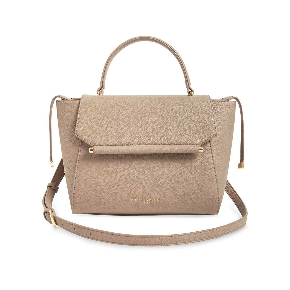 Katie Loxton Ava Top Handle Bag in Taupe