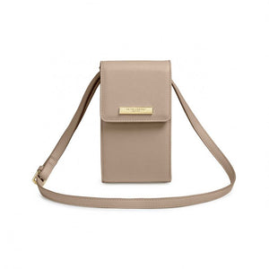 Katie Loxton Taylor Crossbody Bag in Taupe