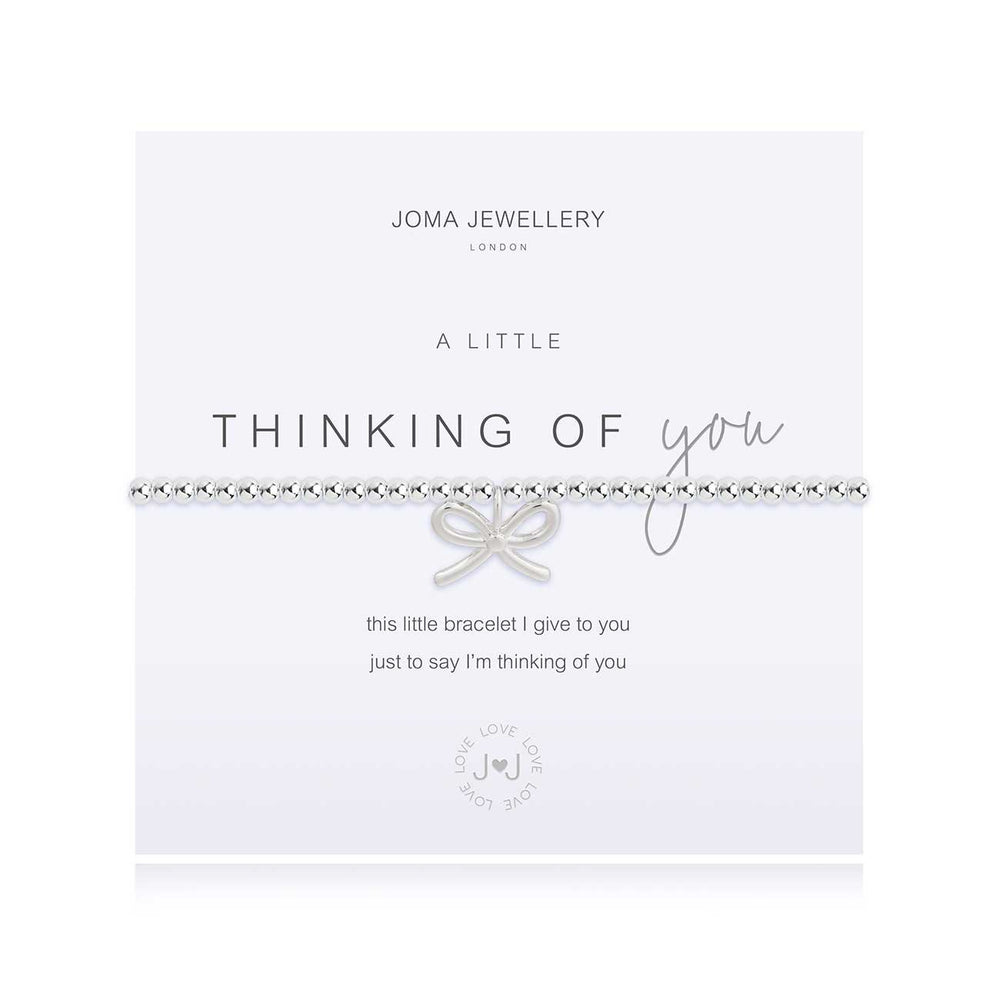 Joma Jewellery A Little Thinking of You Bow Bracelet