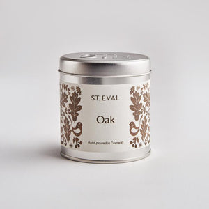 Load image into Gallery viewer, St Eval Oak, Folk Scented Tin Candle