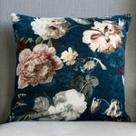 Grand Illusions Velvet Cushion Flora