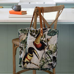 Grand Illusions Velvet Bag Toucan Bird