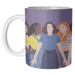 Stranger Things Girl Characters Mug Art Wow