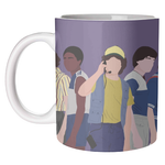 Stranger Things Boy Characters Mug Art Wow